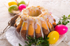 Easter babka Stock Photography