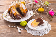 Easter babka Royalty Free Stock Photography