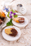 Easter babka Royalty Free Stock Images