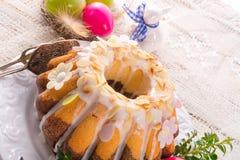 Easter babka Stock Photos
