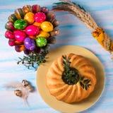 Easter babka Royalty Free Stock Image