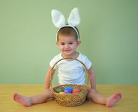 Easter baby Stock Photos