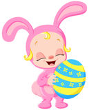 Easter baby Royalty Free Stock Photos