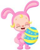 Easter baby vector illustration