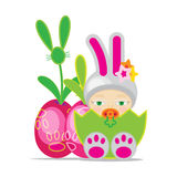 Easter Baby Stock Images