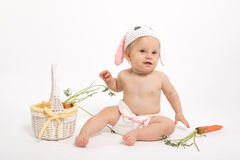 Easter Baby Bunny Stock Images