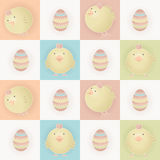 Easter baby chicks royalty free stock photography