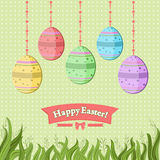 Easter backdrop Stock Photography