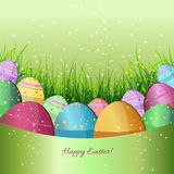Easter backdrop Stock Image