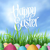 Easter backdrop Royalty Free Stock Photo