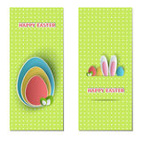 Easter backdrops Stock Images