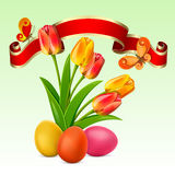 Easter background Stock Image
