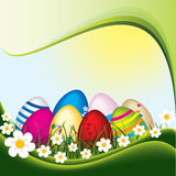 Easter background Stock Photos