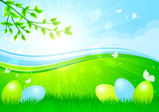 Easter background Stock Images