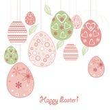 Easter background. Card easter background  wallpaper  vintage Royalty Free Stock Image