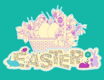 Easter Background. Stock Photos