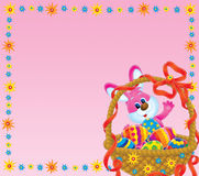 Easter background. Illustration / background for your design, scrapbook or holiday card Stock Photo