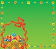 Easter background. Illustration / background for your design, scrapbook or holiday card Stock Images