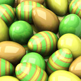 Easter background, 3d Royalty Free Stock Photos