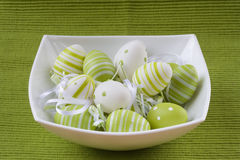 Easter background. Colorful easter eggs for backgrounds Stock Photo