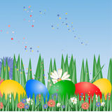 Easter background, Stock Photography