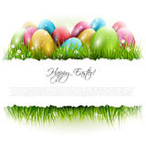 Easter background with copyspace Stock Photos