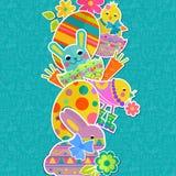 Easter background design vertical Stock Photo