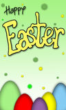 Easter background Stock Photography