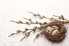 Easter background. stock photo