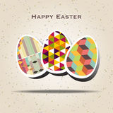 Easter background with easter eggs spring collection. Vector illustration vector illustration