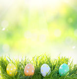 Easter background Stock Photo