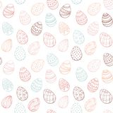 Easter egg pattern vector illustration