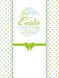 Easter background panel Royalty Free Stock Photos