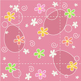 Easter background seamless pattern stock photography