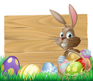 Easter background sign Stock Photo