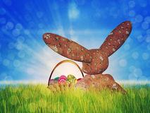 Easter toon bunny Royalty Free Stock Photography