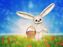 Easter toon bunny Stock Photo