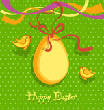 Easter background vector Stock Photo