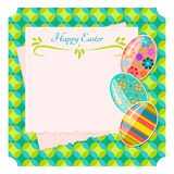 Easter background vector Stock Photography