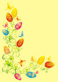 Easter background, vector illustration Royalty Free Stock Image