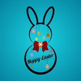 Easter background Vector illustration. Stock Photos