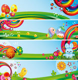 Easter backgrounds Royalty Free Stock Photos