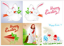 Easter Backgrounds Vectors Royalty Free Stock Photos