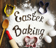 Easter baking Stock Images