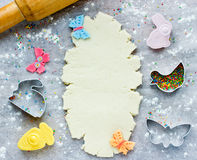 Easter baking background Royalty Free Stock Photography