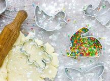 Easter baking Stock Image