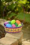 Easter bakset Stock Photo