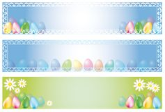 Easter banner Royalty Free Stock Image