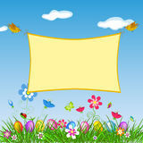Easter banner. Stock Photography