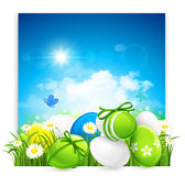 Easter banner Royalty Free Stock Photography